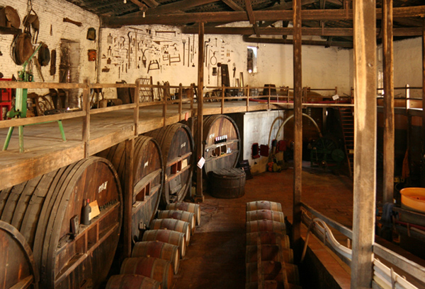 Cave chateau caze villaudric